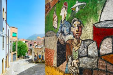 Orgosolo Murales Sardegna