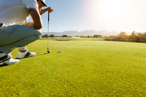 Golf Player Sardinia
