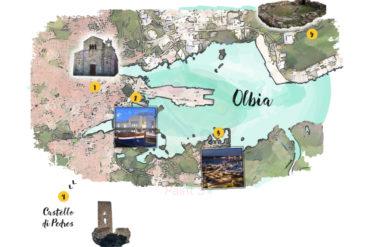 MAPPA OLBIA Attraction maps
