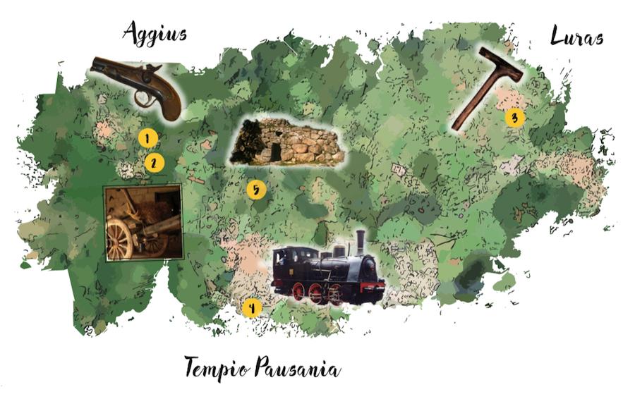 MAPPA TEMPIO PAUSANIA