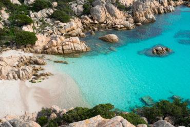 Cala Coticcio in Caprera island Sardinia